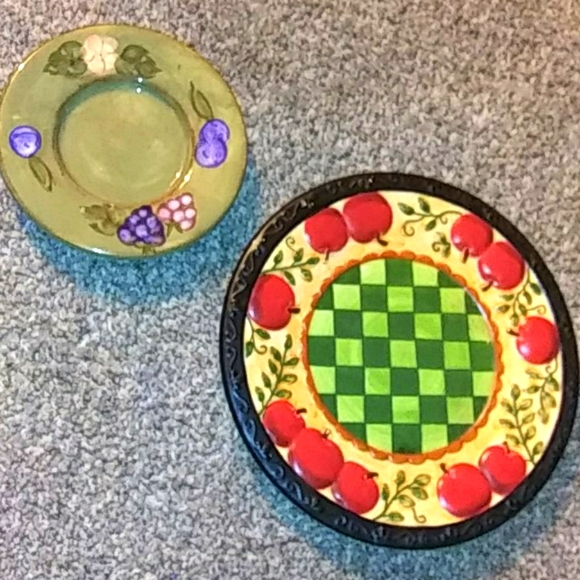 Two Yankee Candle Candle Trays